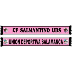 Bufanda lana rosa CF Salmantino UDS